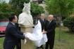Zsigmond király szobrának leleplezése 1