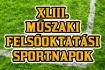 Óbudai Egyetem rendezi a XLIII. Műszaki Felsőoktatási Sportnapokat