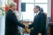 Dr. Busics György kitüntetése