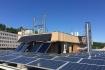 A megújuló energiapark fejlesztése a Bécsi úti C épület tetején