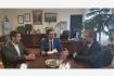 Pomázi Gyula, a Szellemi Tulajdon Nemzeti Hivatala elnöke látogatást tett az Óbudai Egyetemen