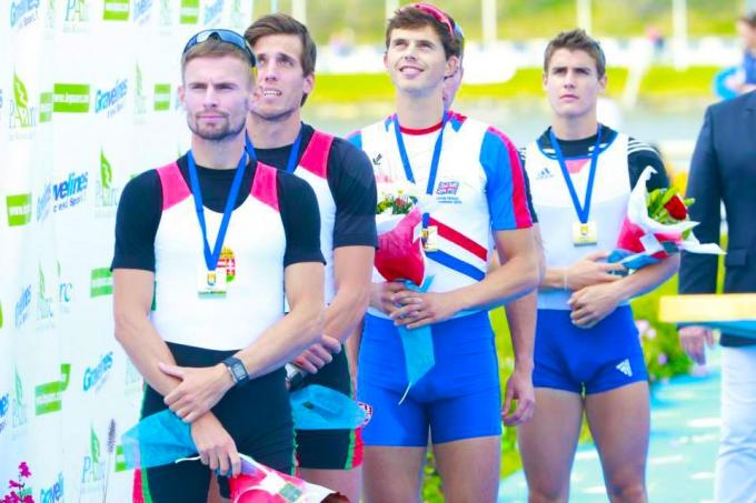 Az Óbudai Egyetem hallgatója ezüstérmes lett a 13. Evezős Egyetemi Világbajnoksá