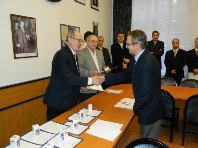Első nemzetközi hegesztőmérnök az Óbudai Egyetemen