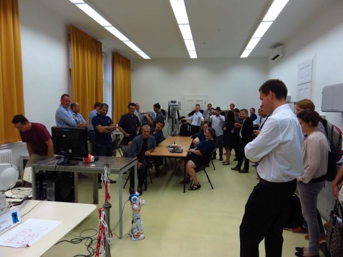 EuRobotics AISBL találkozó