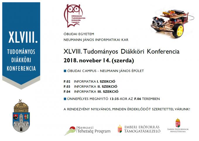 OE NIK Tudományos Diákköri Konferenciája