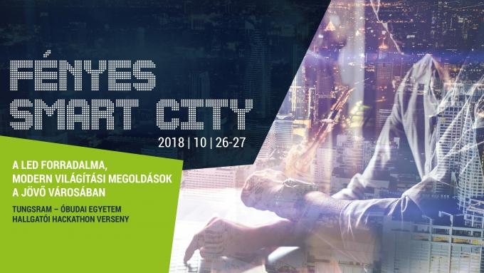 FÉNYES SMART CITY Tungsram – Óbudai Egyetem Hallgatói Hackathon Verseny / Csapattaláló Meetup