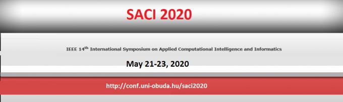 14th IEEE International Symposium on Applied Computational Intelligence and Informatics