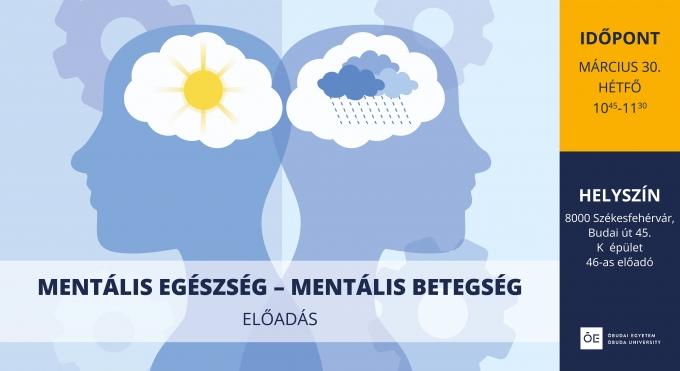 Mentális egészség - mentális betegség előadás