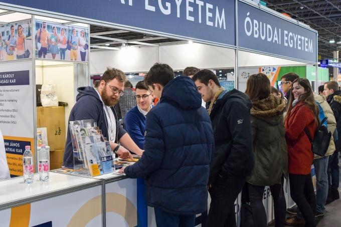 Educatio kiállítás 2019  - Óbudai Egyetem iránt nagy volt az érdeklődés