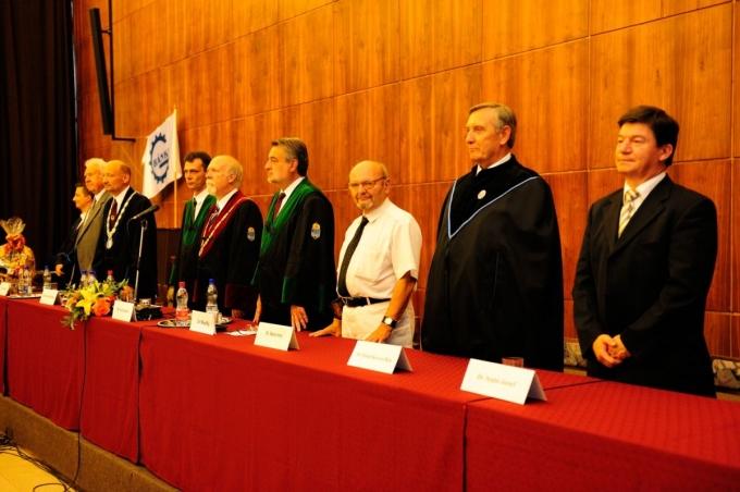 Diplomaátadó ünnepség a Bánki Donát Gépész és Biztonságtechnikai Mérnöki Karon