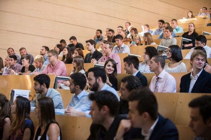 Opening ceremony for international students at Óbuda University