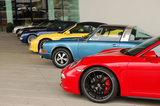 A stuttgarti Porsche gyár múzeuma