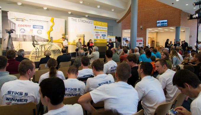 RECCS 2014 -  Tésztahíd Építő Világbajnokság