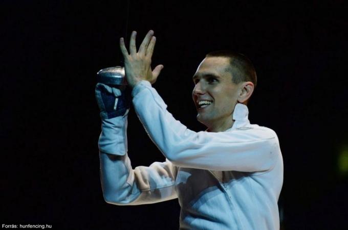 Rédli András Strasbourgban nyert Eb-aranyat