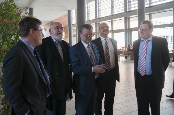 Látogatás a TÜV Rheinland Egyetemi Tudásközpontban