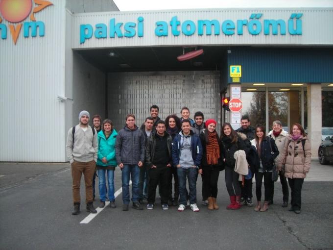 Paks Nuclear Power Plant visit