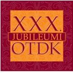 Első helyezés a  XXX. Jubileumi Országos Tudományos Diákköri Konferencián