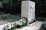 Kandó Kálmán megkoszorúzott síremléke