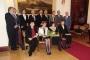 A díjazottak és a Széchenyi Kör vezetői