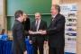 Az év fiatal kutatója díj átadása Dr. Szénási Sándornak