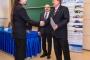 Hallgatói publikációs díj átadása Tusor Balázsnak