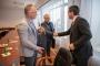 Prof. Exel és Prof. Brouwer látogatása az Óbudai Egyetemen