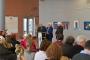 """Színes város"""" címmel kiállítás nyílt az Óbudai Egyetemen Koppány Attila festményeiből"""