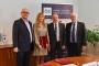 Újabb együttműködési megállapodást írt alá az Óbudai Egyetem vezetése