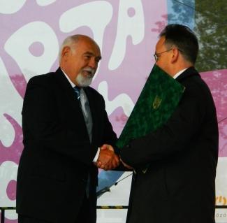 Rudas Imre Pro Óbuda Díj kitüntetése