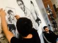 Donka Péter kiállítása az Óbudai Egyetemen