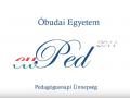 EU-PED 2011 az Óbudai Egyetemen - Pedagógusnapi Ünnepség