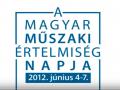 Magyar Műszaki Értelmiség Napja 2012