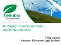 Budapest felszíni és felszín alatti vízkészletei - Tahy Ágnes