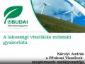 A lakossági vízellátás műszaki gyakorlata - Károlyi András