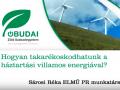 Sárosi Réka - Hogyan takarékoskodhatunk a háztartási villamos energiával?