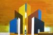 Színes város kiállítás az óbudai campuson