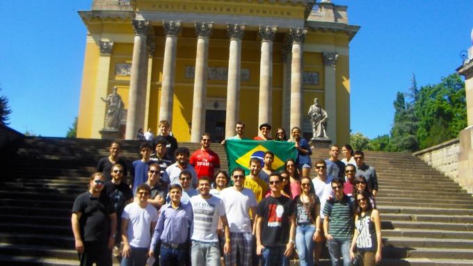 Eger Trip with Brazilian Friends