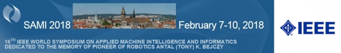 IEEE 16th World Symposium on Applied Machine Intelligence and Informatics